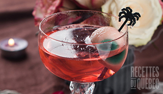 Halloween recettes cocktail oeil