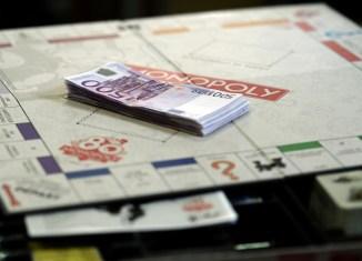 Monopoly 80 ans euros