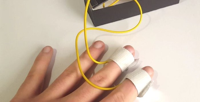 diy lie detector arduino