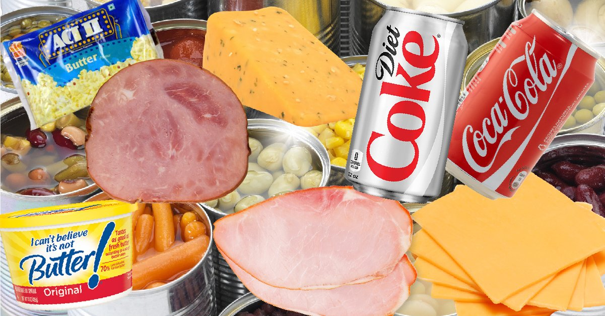 5 alimentos y bebidas que nunca deberías consumir