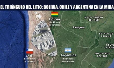 El triángulo del litio: Bolivia, Chile y Argentina en la mira