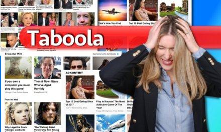 Taboola la publicidad engañosa que nos abruma en la web
