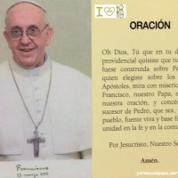 Oraciones por el Papa Francisco