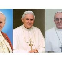¿Quién es mejor Papa: Juan Pablo II, Benedicto XVI o Francisco?