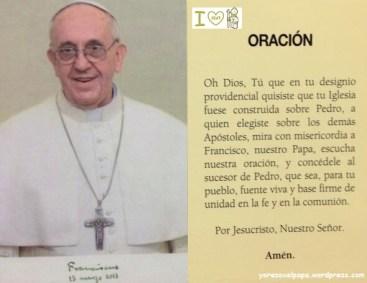 Oración por el Papa Francisco_yorezoxelapapa