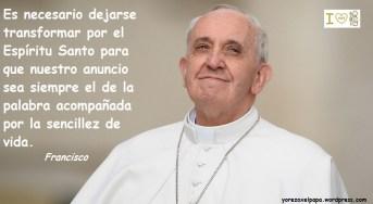 Papa Francisco y su sencillez_YoRezoXelPapa