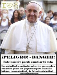 Papa Francisco_Peligro_Spanish