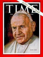 Juan XXIII_hombre del año para Time