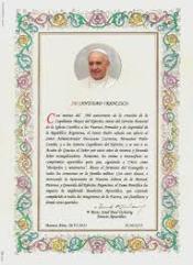 bendición apostólica papa francisco