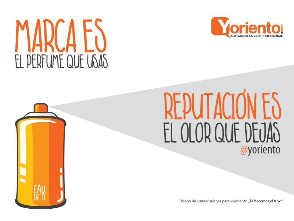 #mar ilustracion marca es el perfume que usas- reputacion el olor que dejas