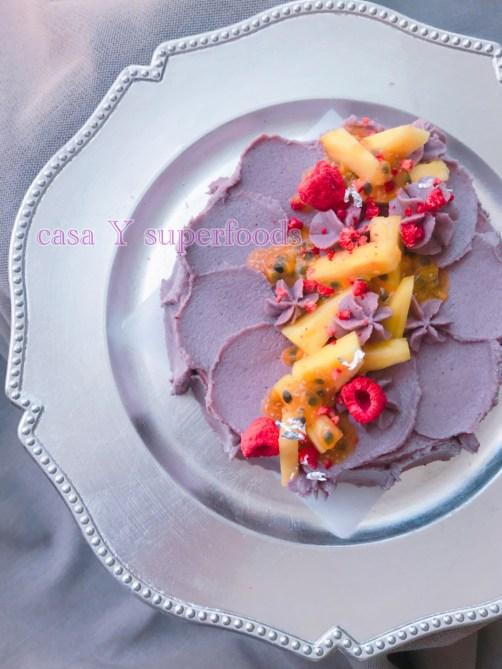 ローマキベリークリームショートケーキ パッションフルーツ&パイナップル