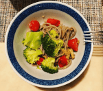 Buckwheat pasta broccoli