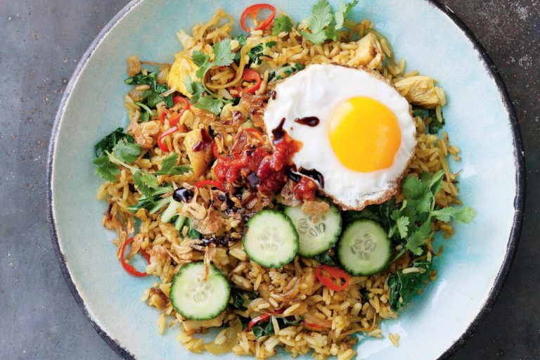 Asian Cuisine with Eggs
