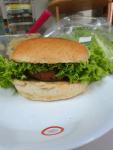 Chickpea veggie burger