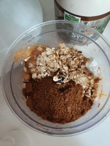 Add blondie mix to food processor