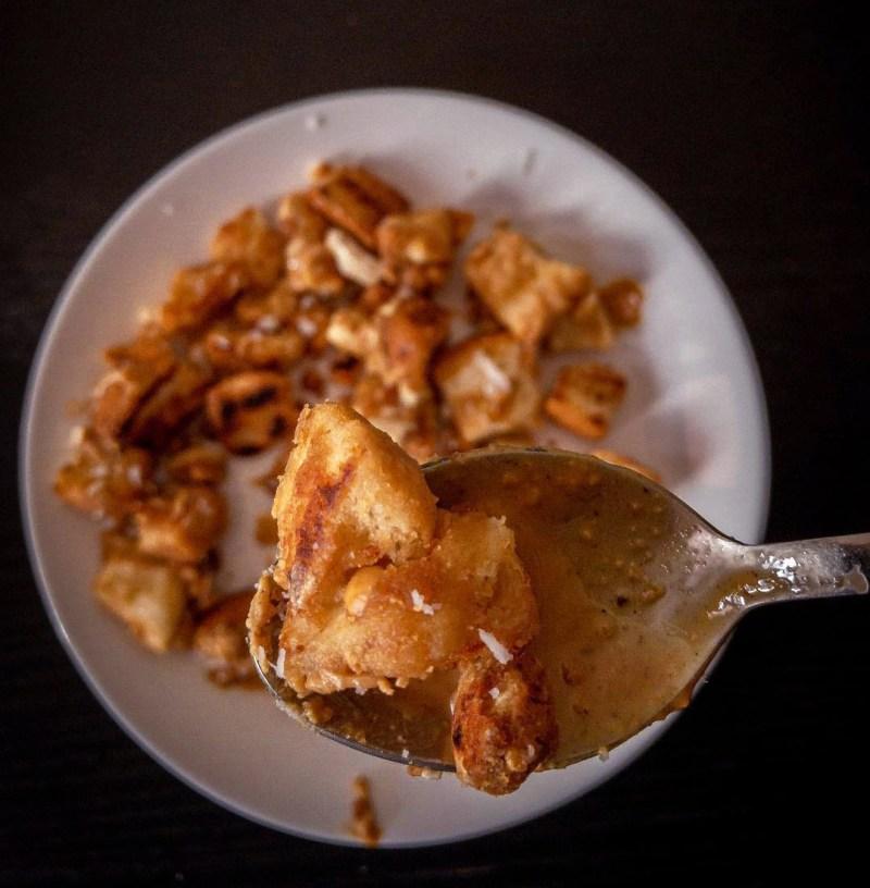 Vegan Peanut Butter Toast Stir Fry
