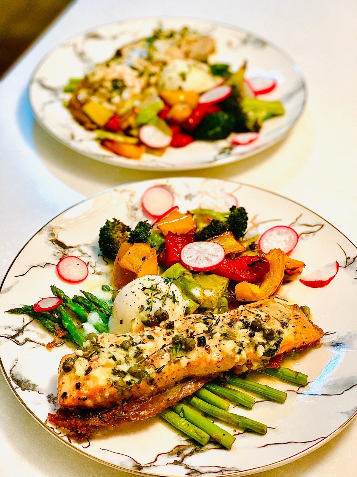 Salmon foodie.fit.mum