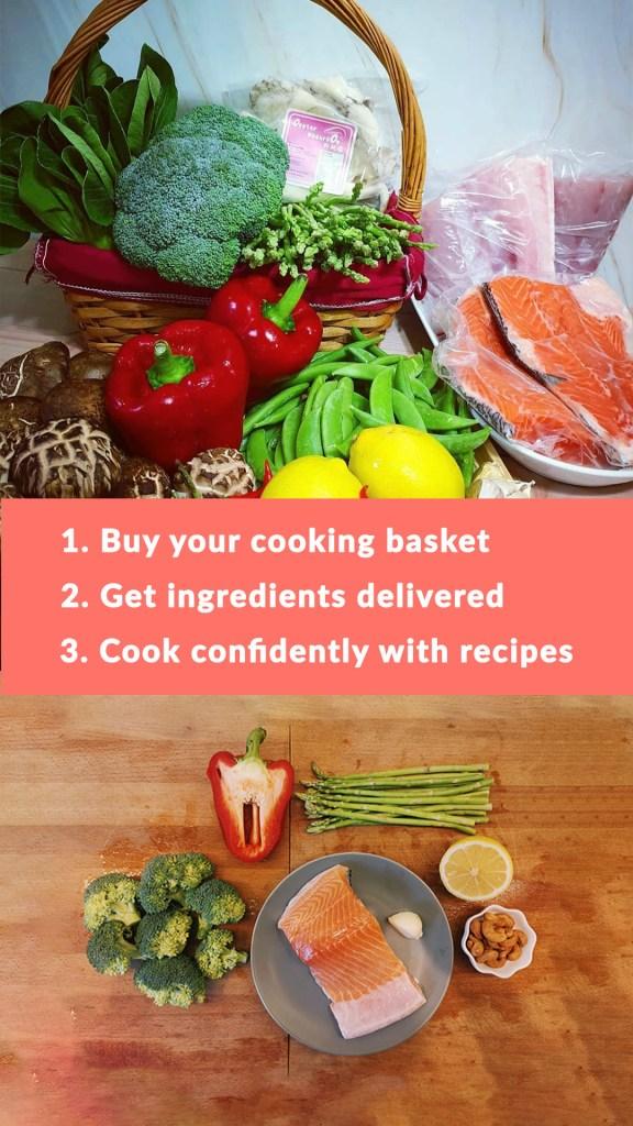 Steps Grocery Basket
