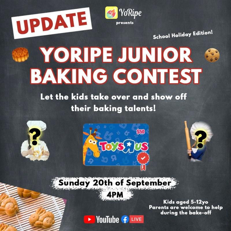 YoRipe Junior Baking Contest 2020