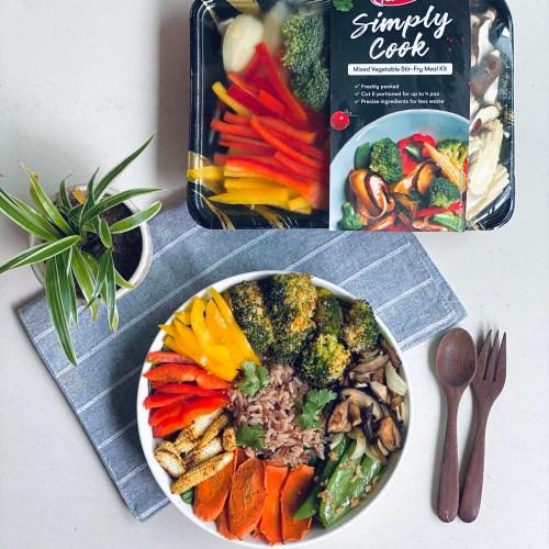 Nourish Veggie Bowl