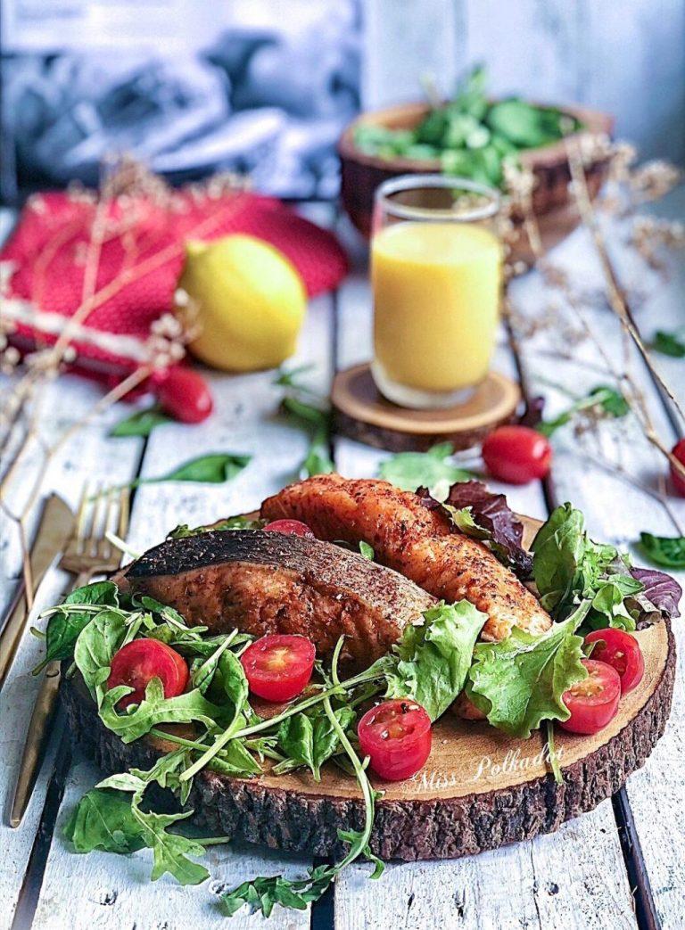 grill cajun salmon
