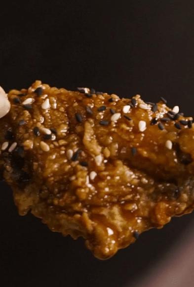 kimchi fried chicken korean food recipe