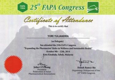 2014-10-09 - FAPA CONGRESS PARTICIPANTS