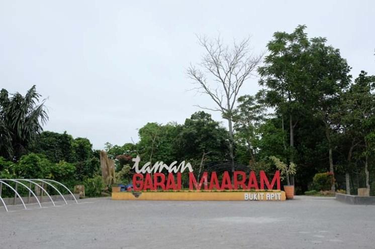 Selamat Datang di Taman Ngarai Maaram