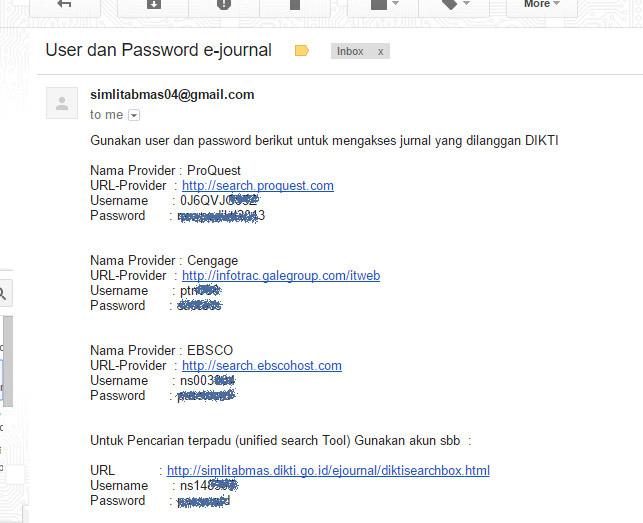 password ejournal dikti