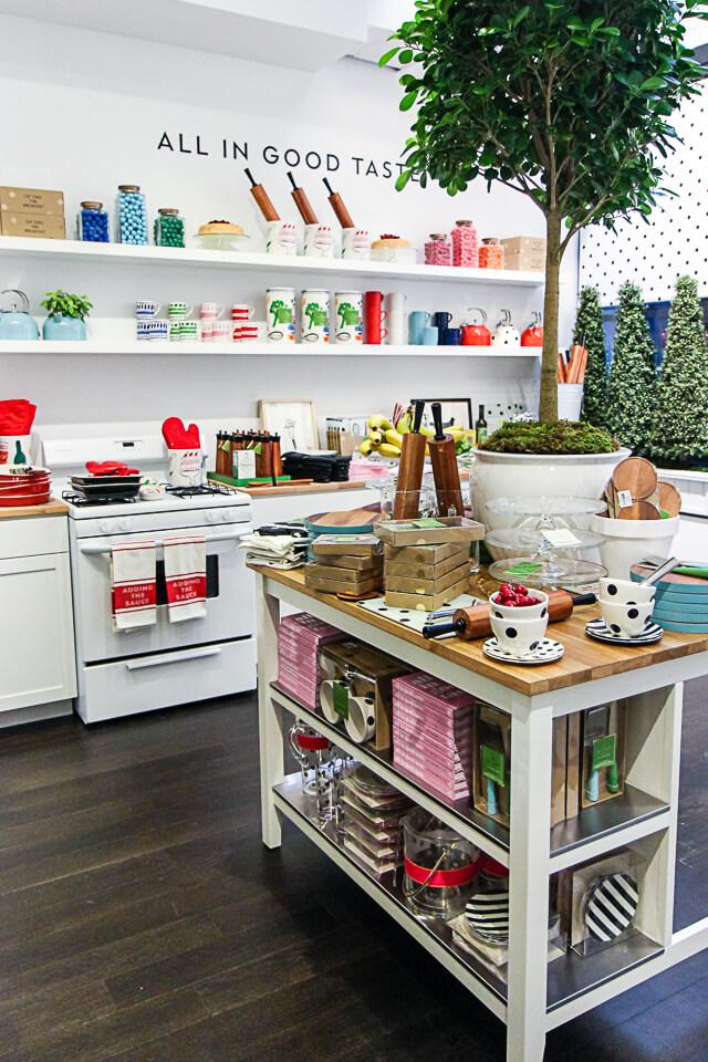 NYC Guide Kate Spade Home Pop Up Shop York Avenue
