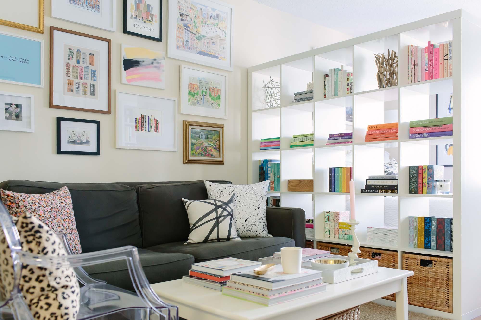 ideas for dividing a studio apartment