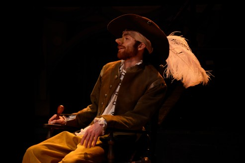 Christian Edwards as Cyrano - photo by Nobby Clark