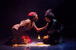 Brighton Rock 2018 Gloria Onitiri as Ida and Shamira Turner as Old Crowe