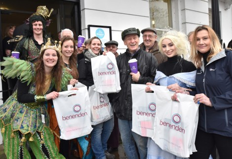 Queues outside York Theatre Royalas the 2016-17 pantomime Cinderella go on sale on Tuesday Picture Frank Dwyer