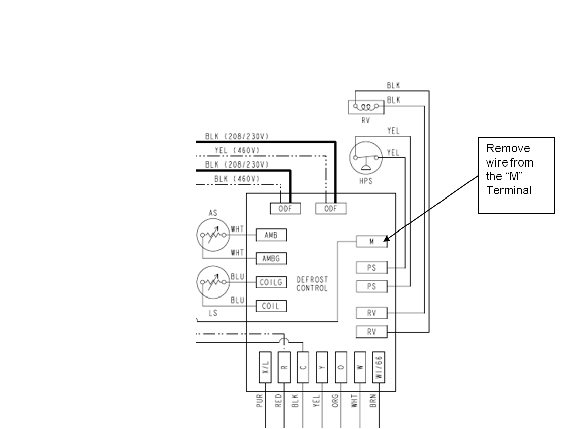 Carrier Heat Pump Defrost Board Wiring Diagram