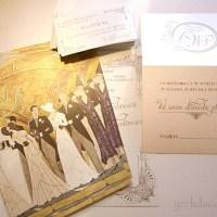 Invitatii Nunta Art-Vintage