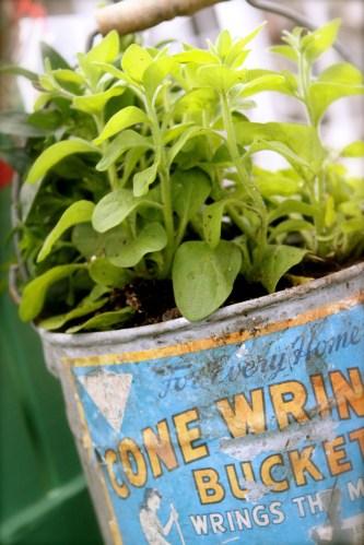 Make your own vintage garden props