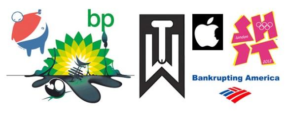 Top Ten Logo Parodies & Logo Manipulations