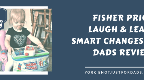 Featured image for the post dads review Fisher price laugh and learn smart changes chair