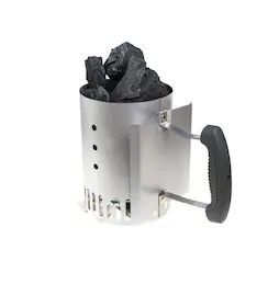 Charcoal Chimney an excellent piece of equipment to aid you n lighting your barbecue.