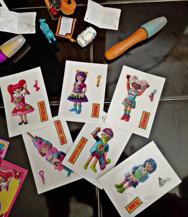 Take a look through at the various EverDreamerz Comic World collection from Playmobil. The figurines and accesories.