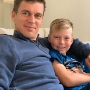 Busy busy for this Blended Family. Young Archie and Dad Mark take a well earned Break.