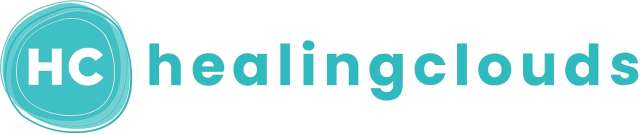 The Logo for Healingclouds. An Online support network for Mental health an well-being.