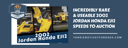 Incredibly rare Honda Jordan ej12