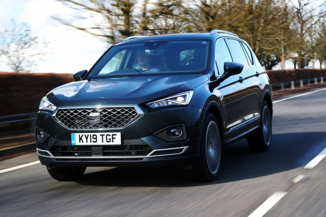 The impeccably styled SEAT Tarraco. The Award Winning 7-seat Family Car from SEAT.
