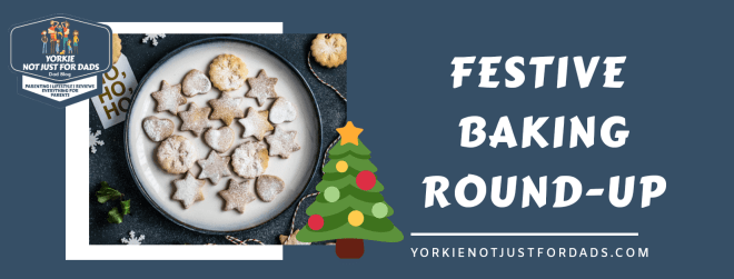 Featured image for the festive baking roundup