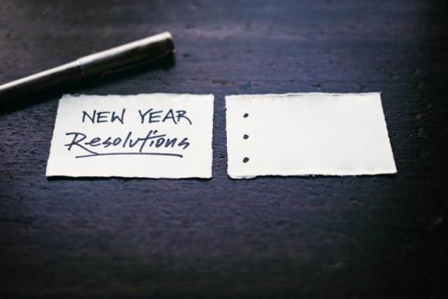 Will you be making resolutions for the new year 2021?