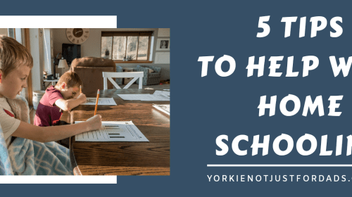 Featured image for the post 5 tips to help with Home schooling.