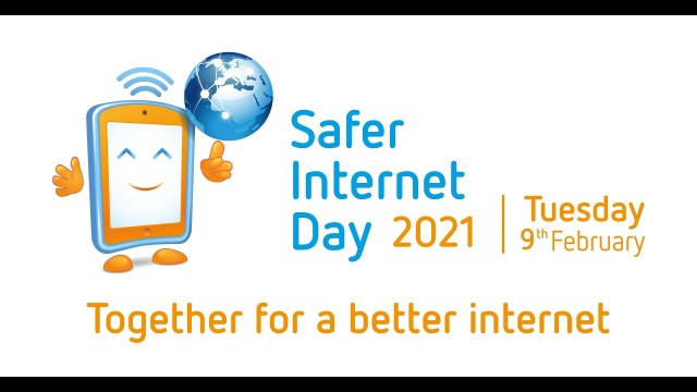 Image to raise awareness of Safer Internet Day to promote Safer Internet tips to help to educate parents and children of Internet safety.