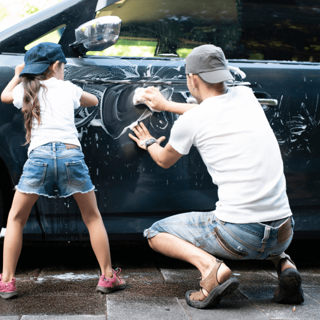 Washing your car will help to protect the paintwork from the elements and corrosion but will also allow you to check for visual damage to your car.